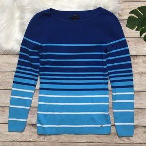 3/$30 Tommy Hilfiger Blue Color Block Sweater M